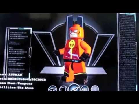 Lego Batman 3 How to make Antman