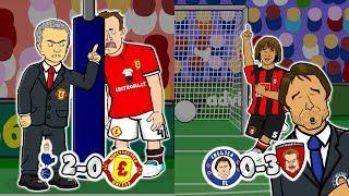 🤣JONES OWN GOAL!🤣 Utd Lose! Chelsea Lose! (Tottenham vs Man Utd 2-0)(Chelsea vs Bournemouth 0-3)