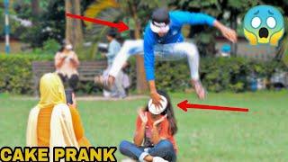 PIE IN THE FACE PRANK ON GIRLS || PRANK IN INDIA || MOUZ PRANK