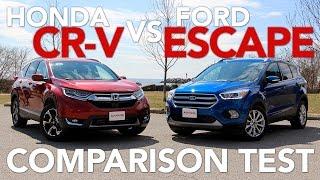 2017 Ford Escape vs 2017 Honda CR-V Compact SUV Comparison