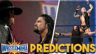 WWE WrestleMania 33 Predictions