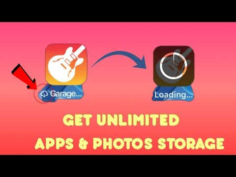 SECRET TRICK TO GET UNLIMITED APP STORAGE! KEEP ALL PHOTOS AND APPS ON LOW STORAGE!