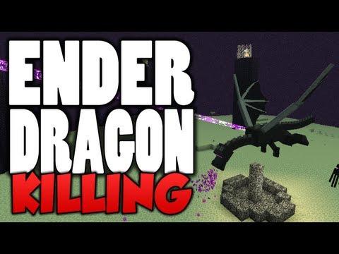 Minecraft (Xbox 360) - ENDER DRAGON BOSS DEFEATED! (TU9)