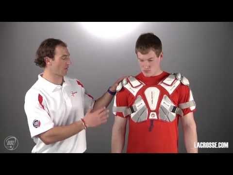 Lacrosse Sizing Guide: Chest & Shoulder Pads | LACROSSE.COM