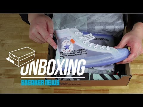 Unboxing The OFF WHITE x Converse Chuck Taylor 70