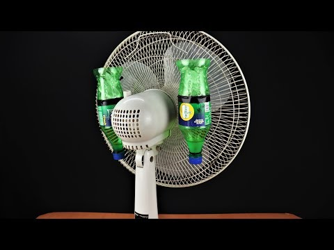 How to Make Air Conditioner at Home using Old Fan & Plastic Bottle
