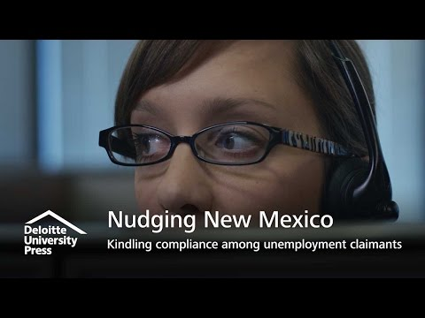 Nudging New Mexico | Kindling compliance among unemployment claimants | Deloitte Insights