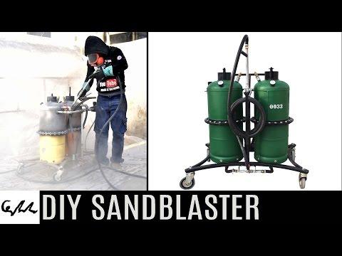 DIY Sandblaster