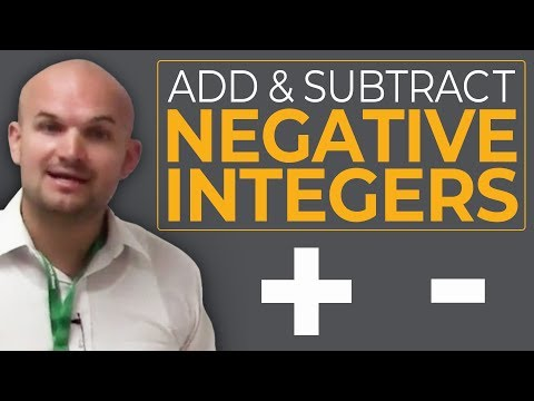 Tutorial - Review for adding and subtracting positive and negative integers