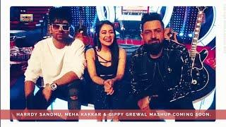 Harrdy Sandhu, Neha Kakkar & Gippy Grewal Mashup coming soon, Snapcaht story - 5/1/2018