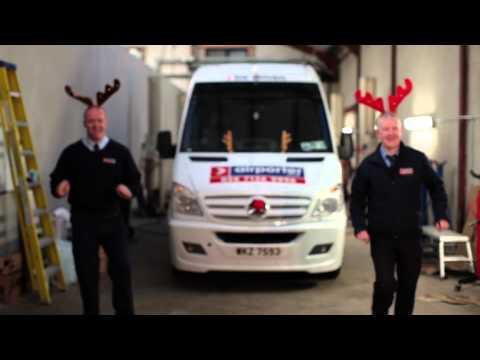 Airporter Christmas Message