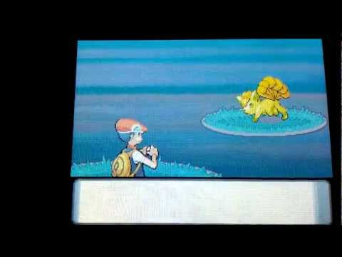 Shiny Vulpix - Pokemon Diamond Chain # 6