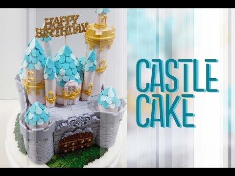 ::sugarcraft::castle cake성케이크 만들기