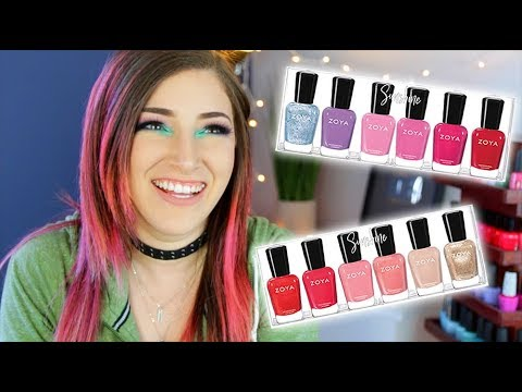 Zoya Sunshine Summer 2018 Collection Swatch and Review! || KELLI MARISSA