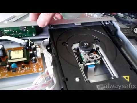 DVD player will not eject easy fix