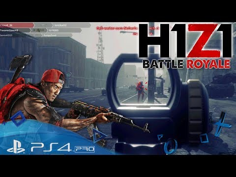 H1Z1 Battle Royale PS4 🇩🇪 Noob am Werk / Let´s Play H1Z1 King of the Kill Playstation 4 Deutsch