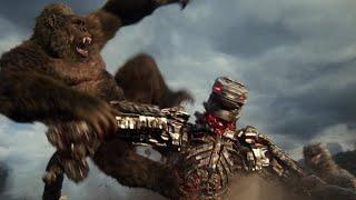 Godzilla vs. Kong - Kong \u0026 Godzilla vs. MechaGodzilla Fight Scene