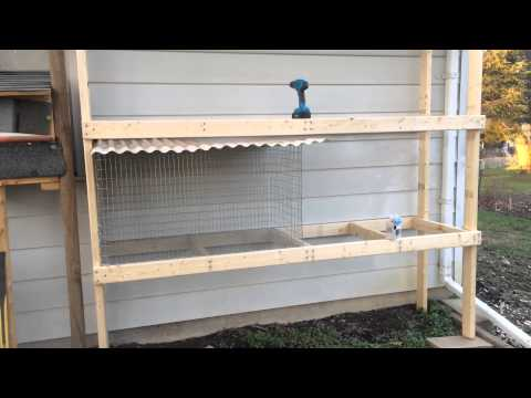 New Rabbit Hutch Built!