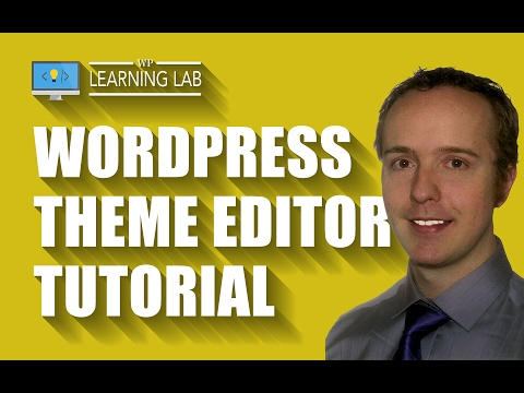 Quick WordPress Theme Editor Tutorial | WP Learning Lab