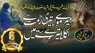 Heart Touching Kalam | Mery Maula Teri Rehmat Se | By Shahid Khattab | Lyrical Video | Peace Studio