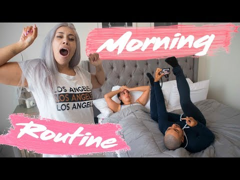 OUR MORNING ROUTINE..