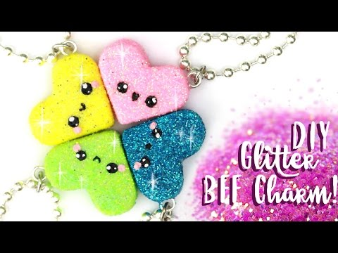 ☆DIY 4 Hearts BFF Charms!-☆ | aCupofCakeTv