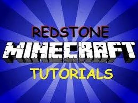 Minecraft  How To Make A Automatic Door