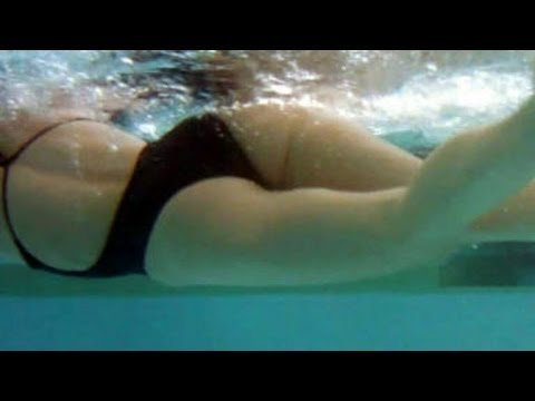Hard Belly and Butt Building Trick for Swimmers