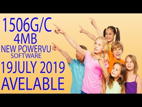 1506G/C 19 JULY 2019 NEW POWERVU SOFTWARE UPDATE BY USB