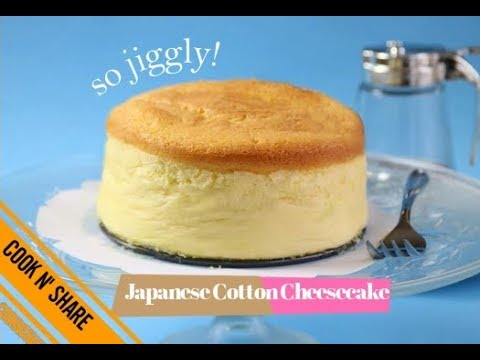Jiggly Cotton Cheesecake - Delightfully Light and Airy