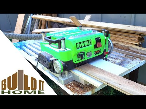 Making Trim And Molding From Recycled Boards - The Prep Work
