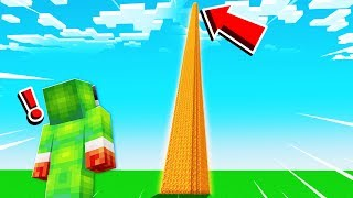 SURVIVING ON A LAVA TOWER IN MINECRAFT!