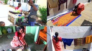 இன்றைய காலை உணவு மிளகு பொங்கலா தயிர் சாதமா🤔 கடைசில பாருங்க😄 | Morning Routine | Amala Village Food