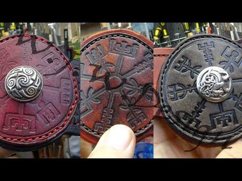 Viking Leather cuff Build & Giveaway
