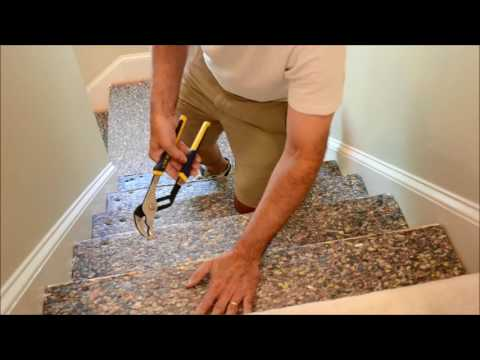 How to Prep Staircase for Wood Flooring Video