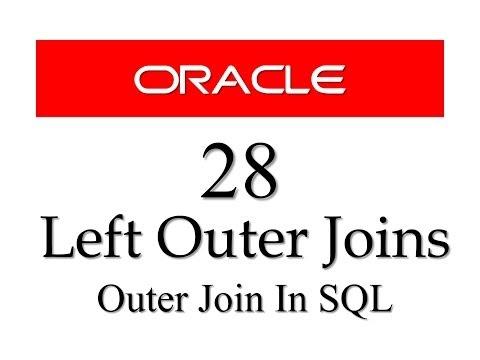 SQL tutorial 28: Left Outer Join By Manish Sharma / RebellionRider