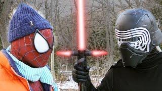 SPIDER-MAN vs KYLO REN