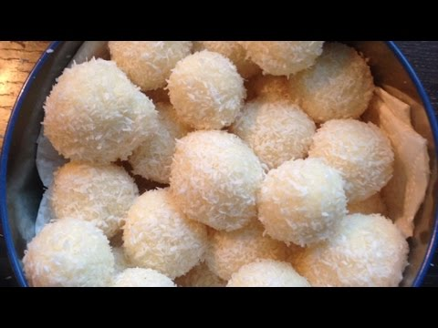 Make Delicious Sweet Coconut Balls - Food & Drinks - Guidecentral