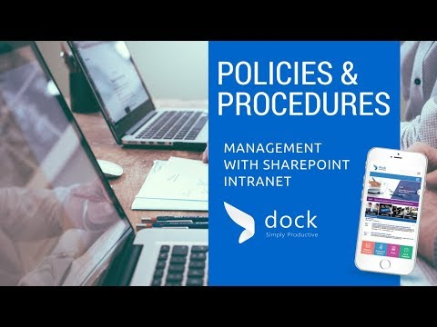 Best Practices for Policy & Procedure Management with SharePoint Intranet