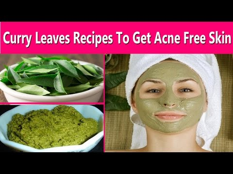 Get Clear & Acne Free Skin Fast and Naturally - Good Acne Cleanser - Curry  Leaves  Diy Face Mask