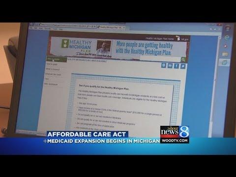 Medicaid enrollment, Healthy Michigan, begins