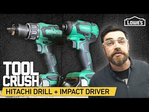 ToolCrush: Hitachi Cordless Drill + Impact Driver | Tool Review