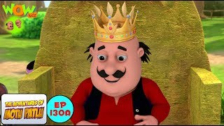 Motu The King Of Tribe - Motu Patlu in Hindi WITH ENGLISH, SPANISH & FRENCH SUBTITLES