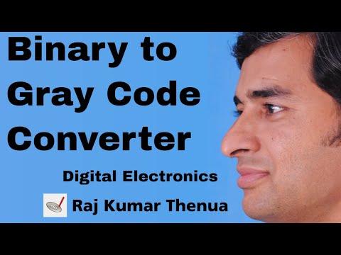 Binary to Gray Code Converter | Hindi / Urdu | Digital Electronics by Raj Kumar Thenua