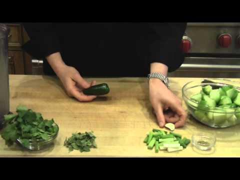 How to Make Tomatillo Salsa