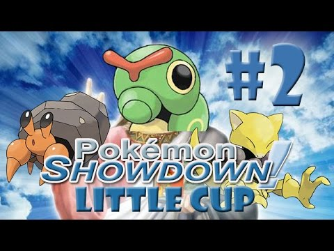 Pokémon Showdown #17 EPIC RAUPY SWEEP?! (Little Cup)