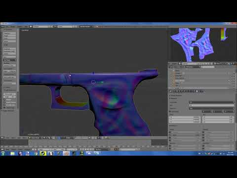 CSGO Skin making tutorial #1: Blender Normal mapping basics