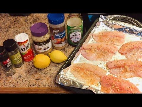 🍴How to Cook Tilapia 🐠? Easy Tilapia Recipe: Soy Sauce, Peppercorn, Thyme Herb, Lemon, Season Salt