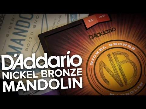 Strings Direct TV | D'Addario Mandolin Strings ft. NEW Nickel Bronze