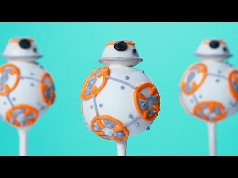 BB-8 CAKE POPS - NERDY NUMMIES - STAR WARS